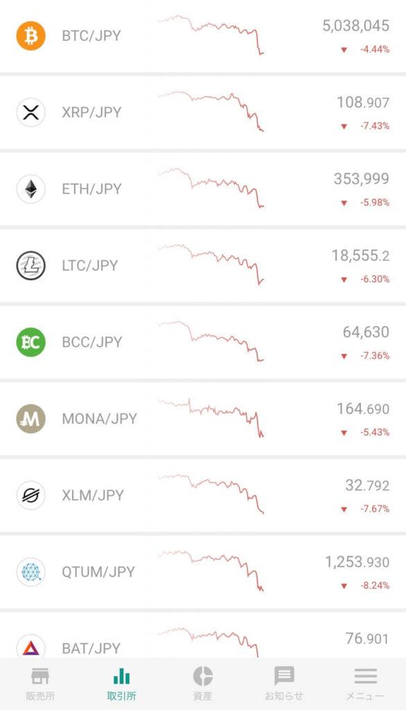 bitbank 評判 bitbank スマホアプリ bitbank 使いやすい bitbank 取引所